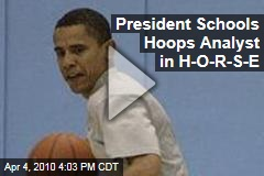 President Schools Hoops Analyst in H-O-R-S-E