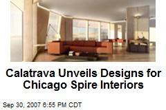Calatrava Unveils Designs for Chicago Spire Interiors