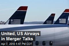 United, US Airways in Merger Talks