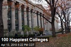 100 Happiest Colleges