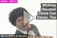 Whitney Houston Clone Can Dance, Too