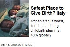 Safest Place to Give Birth? Italy