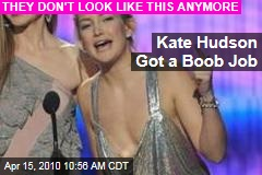 Kate Hudson Got a Boob Job