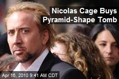 Nicolas Cage Buys Pyramid-Shape Tomb