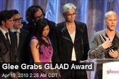 Glee Grabs GLAAD Award