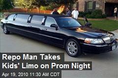 Repo Man Takes Kids' Limo on Prom Night