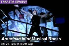 American Idiot Musical Rocks