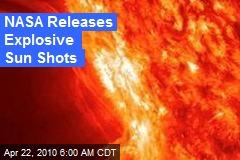 NASA Releases Explosive Sun Shots