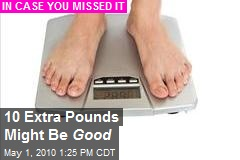 Why Carrying an Extra 10 Pounds Might Not Hurt - WSJ.com