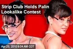 Strip Club Holds Palin Lookalike Contest