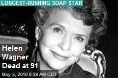 'As the World Turns' legend Helen Wagner dies - The Dish Rag - Zap2it
