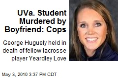 Must have art -- Crime Scene - Local UVa LAX player suspected in homicide