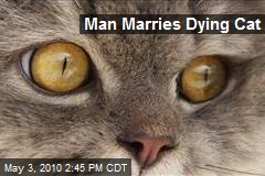 BBC News - German man 'marries' his dying cat