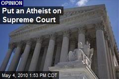 To replace John Paul Stevens, an atheist - latimes.com