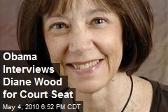 Obama Interviews Diane Wood for Court Seat