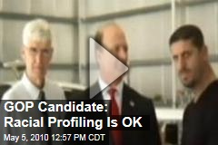 GOP Candidate: Racial Profiling Is OK