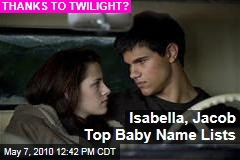 Isabella And Jacob Were Top Baby Names In 2009 - The Two-Way - Breaking News, Analysis Blog : NPR