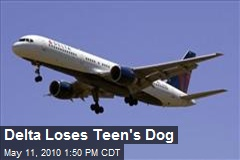 Delta Loses Teen's Dog