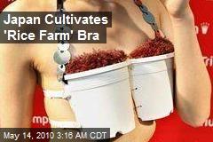 Japan Cultivates 'Rice Farm' Bra