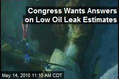 Congress Wants Answers on Low Oil Leak Estimates
