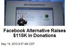 Facebook Alternative Raises $115K in Donations