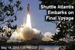 Shuttle Atlantis Embarks on Final Voyage