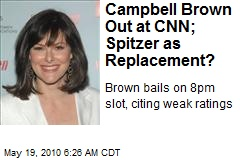 As Ratings Lag, Campbell Brown Out at CNN
