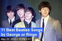 11 Best Beatles Songs by George or Ringo