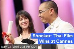 Shocker: Thai Film Wins at Cannes