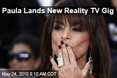 Paula Lands New Reality TV Gig