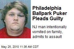 Philadelphia Ballpark Puker Pleads Guilty