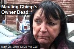 Mauling Chimp's Owner Dead