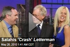 Salahis 'Crash' Letterman