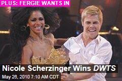 Nicole Scherzinger Wins DWTS