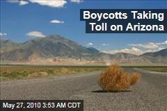 Boycotts Taking Toll on Arizona