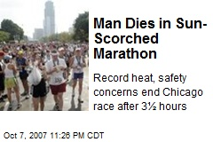 Man Dies in Sun-Scorched Marathon