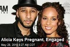 Alicia Keys Pregnant, Engaged