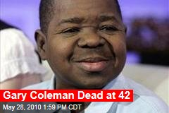 Gary Coleman Dead at 42