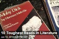10 Toughest Reads in Literature