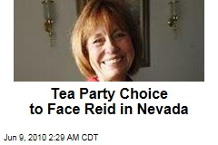Tea Party Choice to Face Reid in Nevada