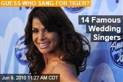 14 Famous Wedding Singers