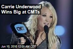 Carrie Underwood Wins Big at CMTs