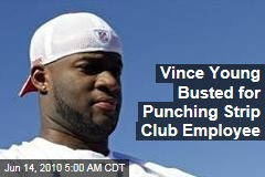 Vince Young Dinged for Strip Club Assault