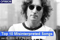 Top 10 Misinterpreted Songs