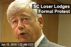 SC Loser Lodges Formal Protest