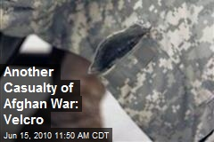 Another Casualty of Afghan War: Velcro