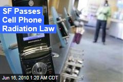 SF Passes Cell Phone Radiation Law