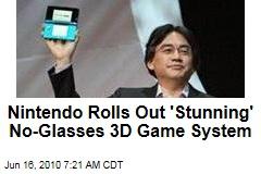 Nintendo, Sony Show Off 3D Video Game Tech