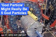 'God Particle' Might Really Be 5 God Particles