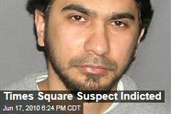 Times Square Suspect Indicted
